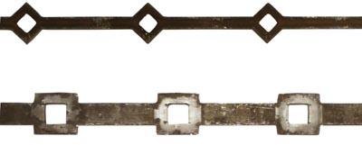Ornement de grilles portails et rampes