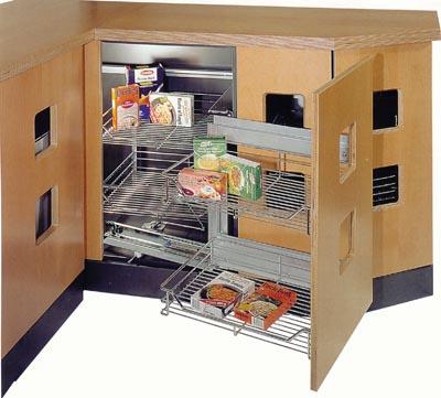 Cuisines, aménagements d'angles