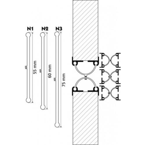 frca bb2 n1 bb2 n2 bb2 n3 joints anti pince doigt ferrures seuils et joints. Black Bedroom Furniture Sets. Home Design Ideas