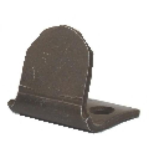arret du bas esp plate zing accessoires de volets quincaillerie de b timent. Black Bedroom Furniture Sets. Home Design Ideas