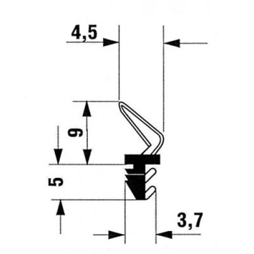 Joint 610002 Sur Dormant Joints De Menuiserie Ferrures Seuils Et Joints