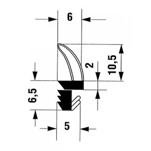 Joint 606592 Sur Dormant Joints De Menuiserie Ferrures Seuils Et Joints