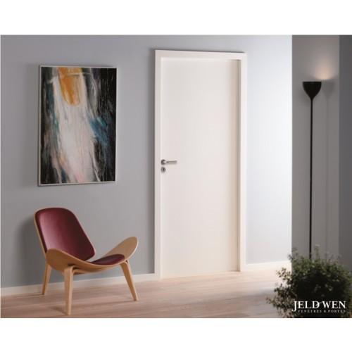 Bloc porte alv olaire pr peint cloison 72 mm bloc porte portes placards - Lapeyre porte interieure ...