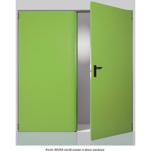 portes rever multi usage bloc porte coupe feu m tallique 1 2 h 1h 2h bloc porte technique. Black Bedroom Furniture Sets. Home Design Ideas