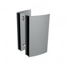 Poignée de tirage en applique pour porte aluminium et verre - ALETA