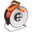 Professional LINE Stee lCore Enrouleur de câble avec disques isolants