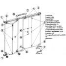 Mantion - Ferrure Pour Porte De Placard Pliant
