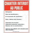 Kroma - Panneau De Chantier