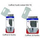 Coffret - Forêt Métal HSS - TX - Métal et Profilé Alu