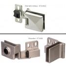 Charnière Milieu et Accessoires pour Porte en Verre - ET 5150 et ET 5150 Z