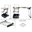 Atelier mobile - MW 1000 et  MW 1000 Basic  + Tiroir